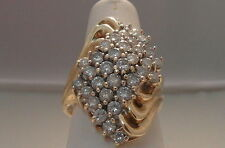 10 Carat Yellow Gold SI1 Fine Diamond Rings