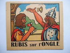 "Chromo Phosphatine ""Rubis sur l'ongle"""