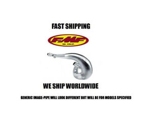 New FMF nickel plated Fatty Gold Series pipe exhaust 11-14 Husaberg TE250 TE300