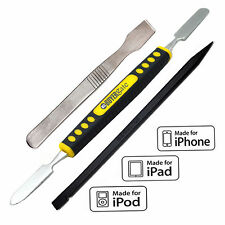 3 iN Rubber Grip Metal Spudger & Naylon Opening Pry Tool for Apple iPad iPhone