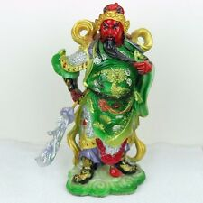 "Guan Gong Yu Chinese General Figurine in Full Color 10""H - New"