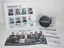 Maroon 5 Red Pill Blues Taiwan Ltd 2-CD w/BOX +magnet opener+flyer