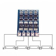 4S 4.2V 14.4V 16.8V 68mA 18650 Lithium Battery Charge Balance Protection Board U