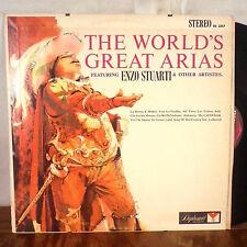 Enzo Stuarti The World's Great Arias LP Diplomat stereo EX