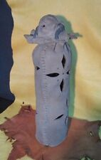 Mary K Karrels Pottery Art Luminary Native Indian Singer Figure Pot original