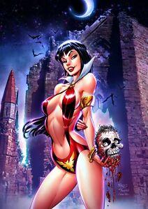 Vampirella #17 JOHN ROYLE Exclusive Virgin Variant Ltd 500 COA NM