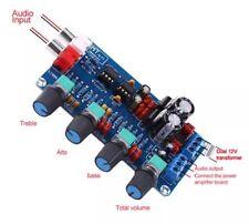 NE5532 HIFI OP-AMP Amplifier Volume Tone EQ Control Board Preamplifier AC12-18V