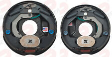 """LH&RH DEXTER 3500 Trailer Axle Brakes 10"""" x 2.25"""" Electric Backing Plate Cluster"""
