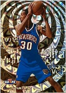 1997-98 HOOPS HIGH VOLTAGE KERRY KITTLES 500 VOLTS PARALLEL #D 098/500 *SCARCE*