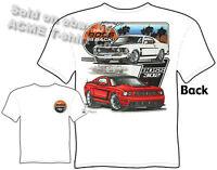 69 Boss Mustang T Shirts Ford Shirt 1969 Mustang Apparel Muscle Car Clothing Tee