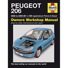 [4613] Peugeot 206 1.1 1.4 1.6 2.0 Petrol 1.4 2.0 TD 02-06 (51 to 06 Reg) Haynes