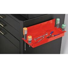 """7 LB Capacity 12"""" Rubber Coated Magnetic Hanging Tray With Screwdriver Holder!"""