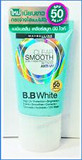 MAYBELLINE CLEAR SMOOTH BB White 8 IN-1 CREAM ANTI UV SPF 50 No.02 18 ml.