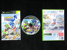 SONIC RIDERS : JEU Microsoft XBOX (Sega COMPLET envoi suivi)