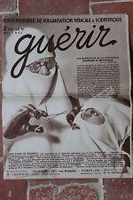 Ancienne revue - Guérir MAI 1932 - Chirurgie esthétique réparatrice - médecine