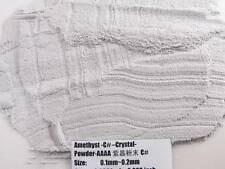 C#Natural Amethyst Quartz Crystal GemStone Specimen Grinding Sand Powder Healing