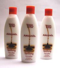 Arganöl Spülung  Swiss-O-Par     3 x 250 ml    (100 ml = 2,00€)  ohne Silicone !