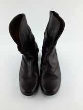 Romika womens dark brown leather boots size 9 US/ 40 EU