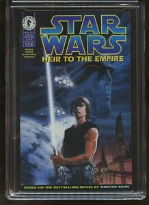 STAR WARS: HEIR TO THE EMPIRE #1 CGC GRADED 9.8 WHITE PAGES 1995 #3713577034