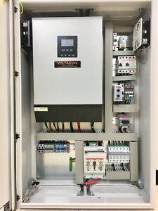 Voltacon 5000W Inverter Charger Off Grid System 48V MPPT. 80Amp. Victron Monitor