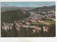 Karlsbad Blick Vom Franz Josefs Hoehe Czechoslovakia Vintage Postcard US028
