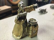 Pewter (Gold And Silver Colorations) Wizard Figurine