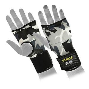 Verus Inner Gel Boxing Glove Hand Wraps Grey/Camo size Medium