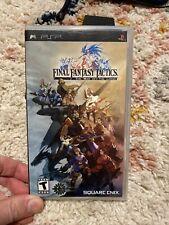 Final Fantasy Tactics Shishi Sensou (Sony Psp, 2007)