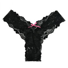 Womens Lace Seamless G-string Briefs Panties Thongs Lingerie Underwear Knickers