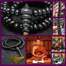 Thai Amulet Master of Leklai Pracom Necklace Black Hand Yant Lp Yai Somporn No.6