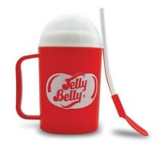Jelly Belly Slush Maker Ice Drink Maker Cup Spoon Straw Slushy