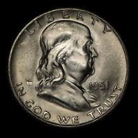 Brilliant Uncirculated 1955-P Franklin Half Dollar #24685