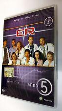 E.R. Medici  in prima linea DVD Serie TV Stagione 5 Disco 4 Episodi 4