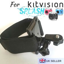 Hand Wrist Strap Harness Mount for Kitvision Splash Edge HD 10 Action Camera