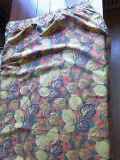 RIDEAU N02 Tissu coton imprimé MARIGNAN 119X210CM VINTAGE 60'S CURTAIN CORTINA