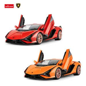 Rastar Licensed 1/14 RC Car Lamborghini Sian Open Doors Remote Control AU Stock