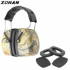 Hearing Protection Earmuffs Shooting Ear Plugs Noise Cancelling For Women Men