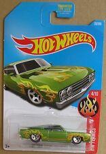 Hot Wheels 2017 35 of 365 '69 Ford Torino Talladega Hotwheels HW Flames - Carded