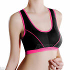 Women Seamless Sports Bra Padded Fitness Yoga Tank Crop Tops Running Gym Vest