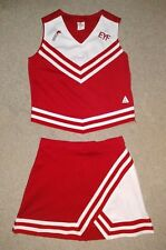 Real Authentic Rittman Ohio EYF Cheerleading Uniform Cheer Red White Chasse
