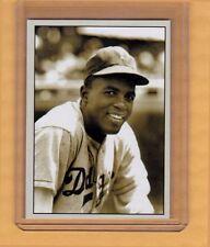 Jackie Robinson, Brooklyn Dodgers signature card Plutograph serial # /200
