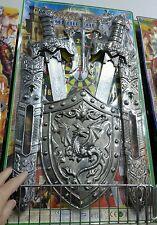 Set gladiatori spade scudo Kit gioco di qualità giocattolo toy a35