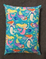 """Beautiful Handmade Mermaid Accent - Throw Pillow 12"""" x 9"""" Sparkly Accents"""