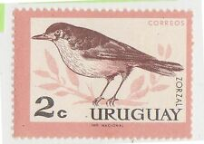 (UG-372) 1962 Uruguay 2c birds ZORAL MNG (A)