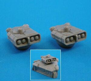 CAV: Strike Operations Battlefield Terrain Turret: Missile (2) #72617 Unpainted