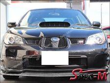 Carbon Fiber Front Bumper Spoiler Lip For 2006 2007 SUBARU IMPREZA GDF STI