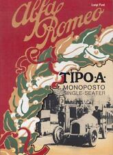Alfa Romeo Tipo A Monoposto 1931 Single-Seater (Luigi Fusi) Buch book libro RARE
