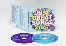 JUST GREAT EST HIT SONGS 2015 NEW 2CD ED SHEERAN,COLDPLAY,THE SCRIPT,TOM ODELL +