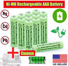 4-24 Pcs Rechargeable AAA Batteries Ni-MH Triple A 1.2v 600mAh Ni-MH Batteries