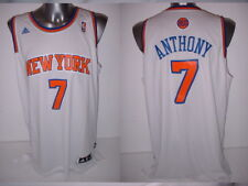 NEW York Knicks ANTHONY adulto XL +2 ADIDAS Maglia Canotta Basket NBA TOP